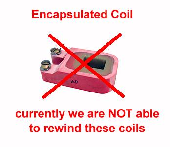 COIL REWIND - for contactor coils of automatic transfer switches