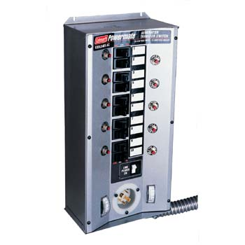PA0650080 01 Coleman Powermate manual transfer switch