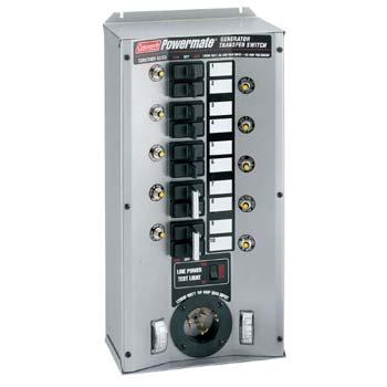 Coleman    Generator    Transfer Switch    Wiring       Diagram        Wiring