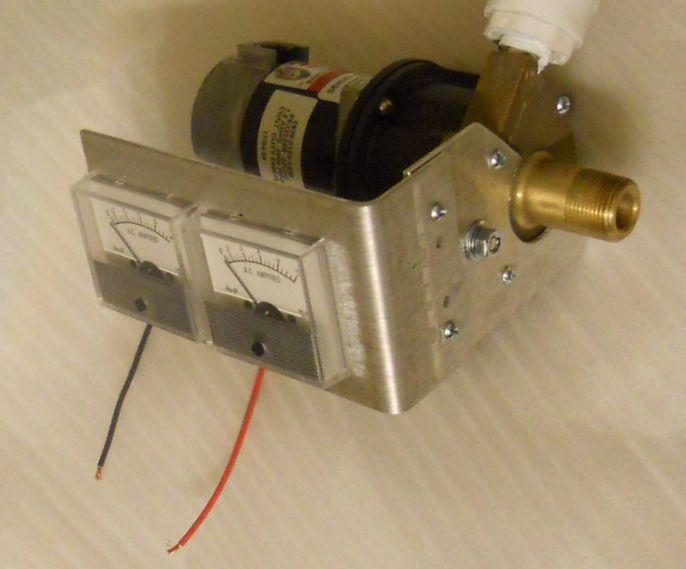 DCPAT Small Micro Hydroelectric Generator - 40W max 12/24Vdc