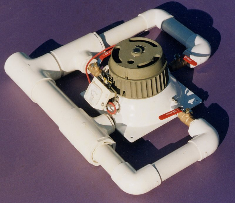 Harris Hydroelectric Turbine Generator 1500w Max 1 4