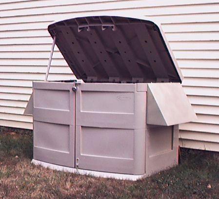 Powershelter kit for Garden shed electrical kit