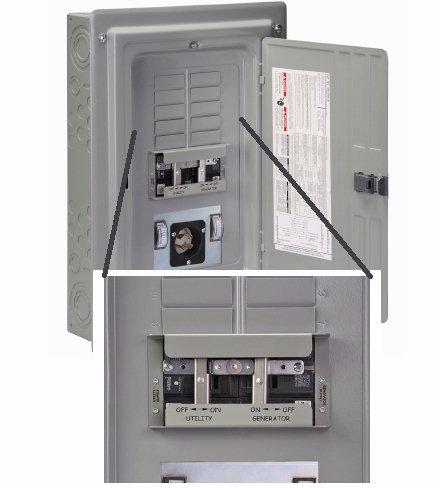 XRC Panel/Link Manual Transfer Panels - 12 branch circuit spaces ...