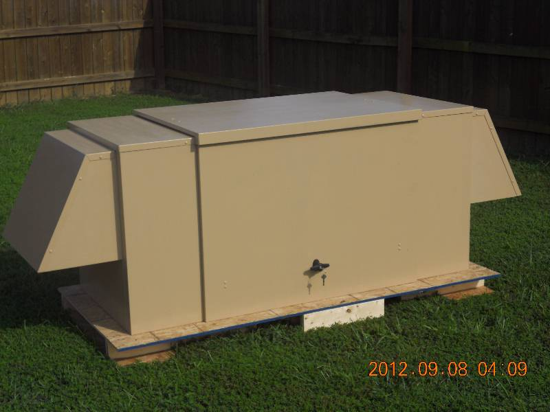 PowerShelter III - enclosure for storing and running portable generator & PowerShelter III - enclosure for storing and running portable ...