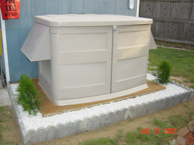 Download outdoor storage shed for generator shed build for Garden shed electrical kit