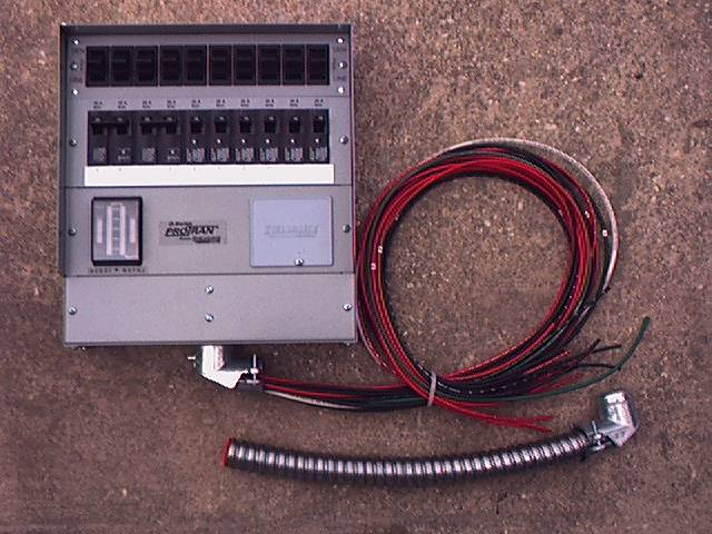 Transfer Switch For Generator With 10 Circuit Breaker From Reliance