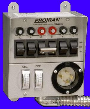 20216a Reliance Pro Tran 20a Manual Transfer Switch 6